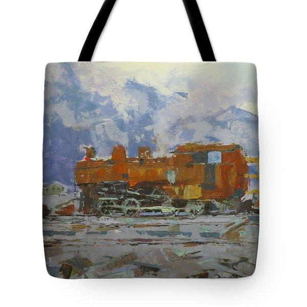 Rusty Loco Tote Bag