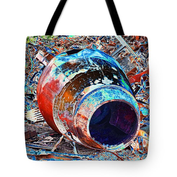 Rusty Metal Stuff II Tote Bag