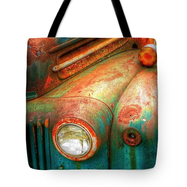 Rusty Old Ford Tote Bag