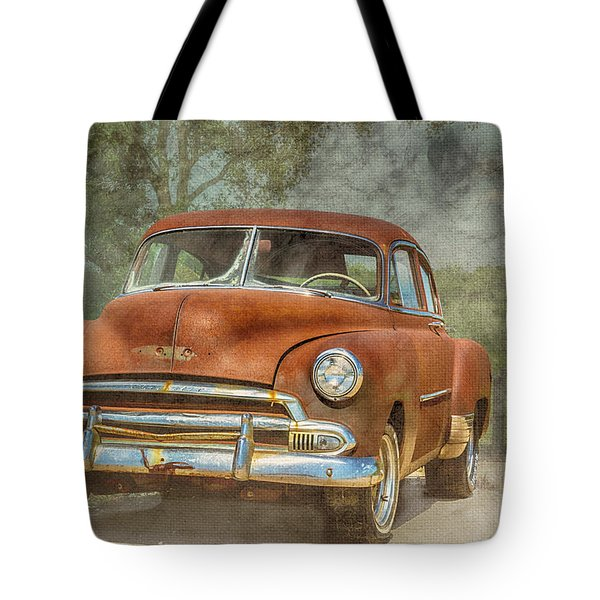 Rusty Tote Bag by Pamela Williams