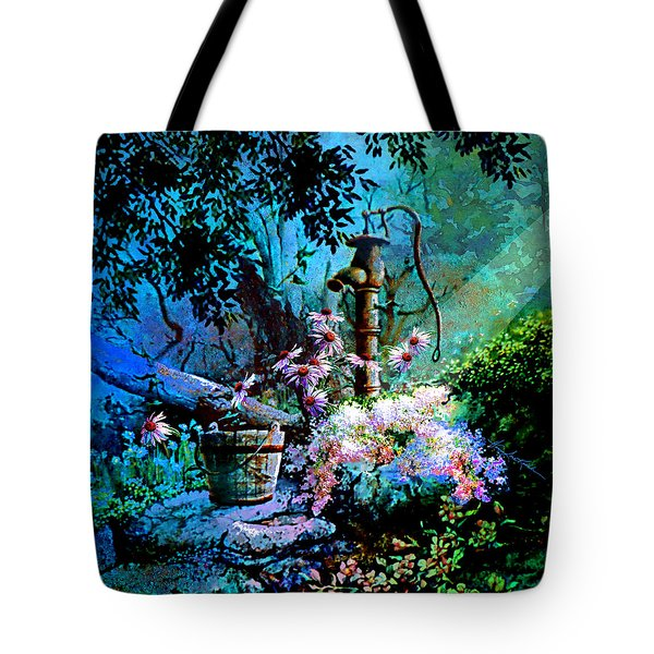 Rusty Relics Tote Bag by Hanne Lore Koehler