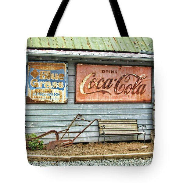 Rusty Relics Tote Bag by Victor Montgomery