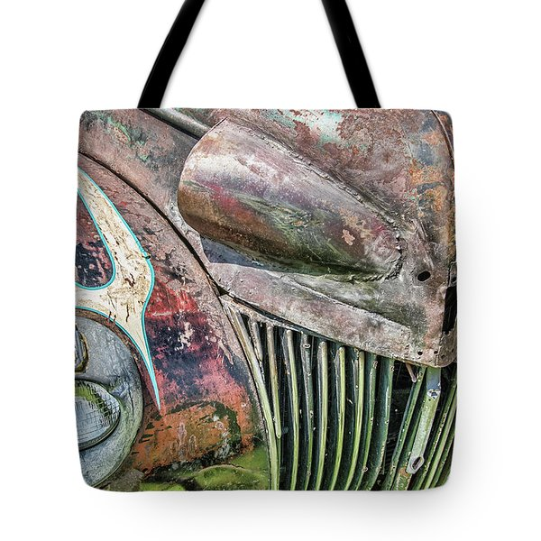 Rusty Road Warrior Tote Bag
