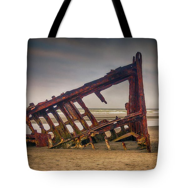 Rusty Shipwreck Tote Bag