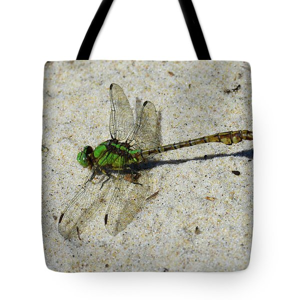 Tote Bag featuring the photograph Rusty Snaketail by Sally Sperry