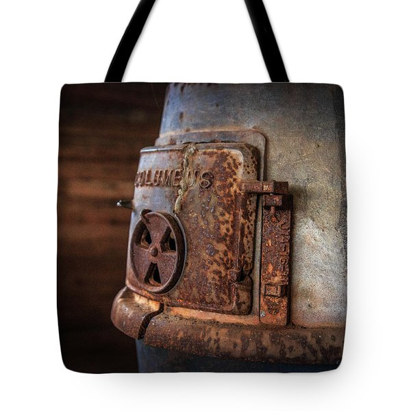 Tote Bag featuring the photograph Rusty Stove by Doug Camara
