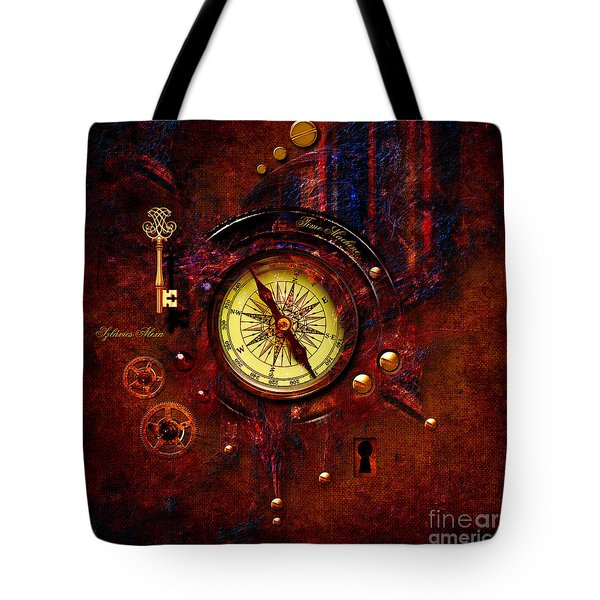 Rusty Time Machine Tote Bag