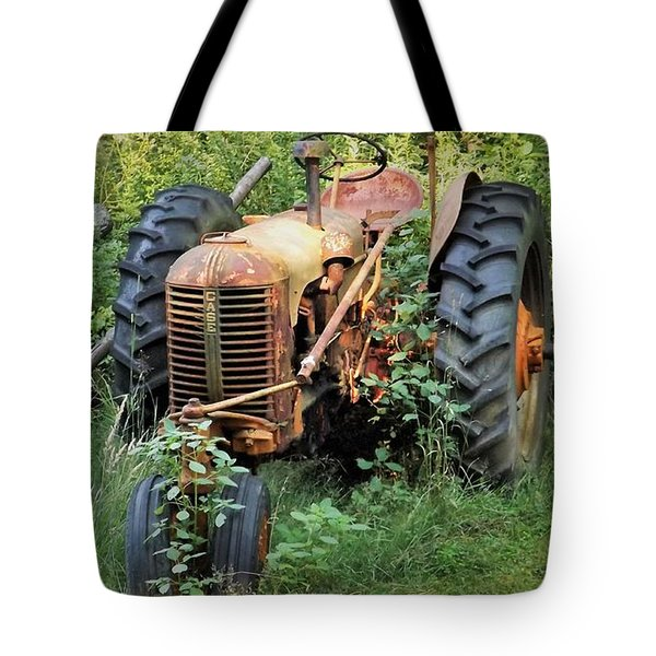 Rusty Tractor 3  Tote Bag
