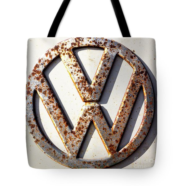 Vintage Vw Sign Tote Bag