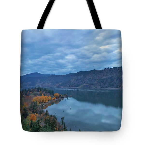 Ruthton Point During Evening Blue Hour Tote Bag