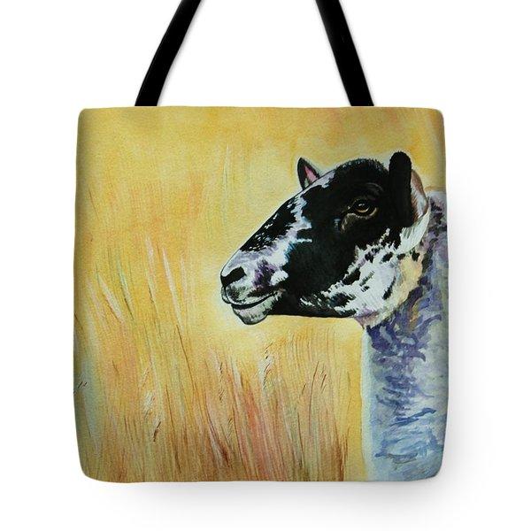 Rutland Sheep  Tote Bag by Lucy Deane