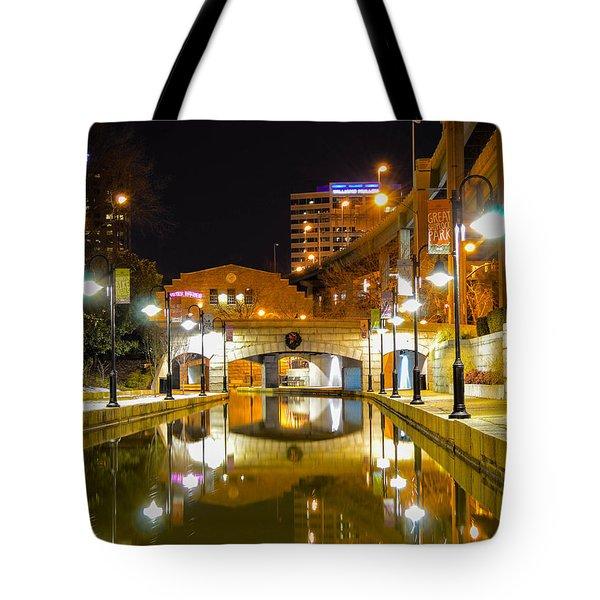 Rva Canal Walk Tote Bag