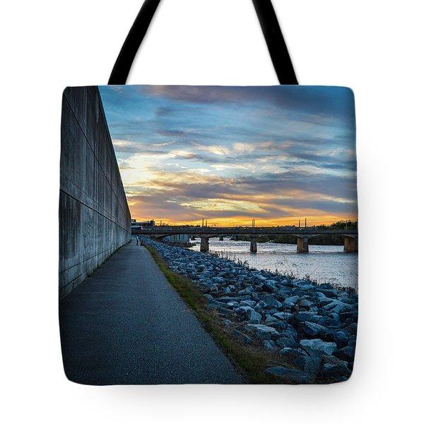 Rva Flood Wall Tote Bag