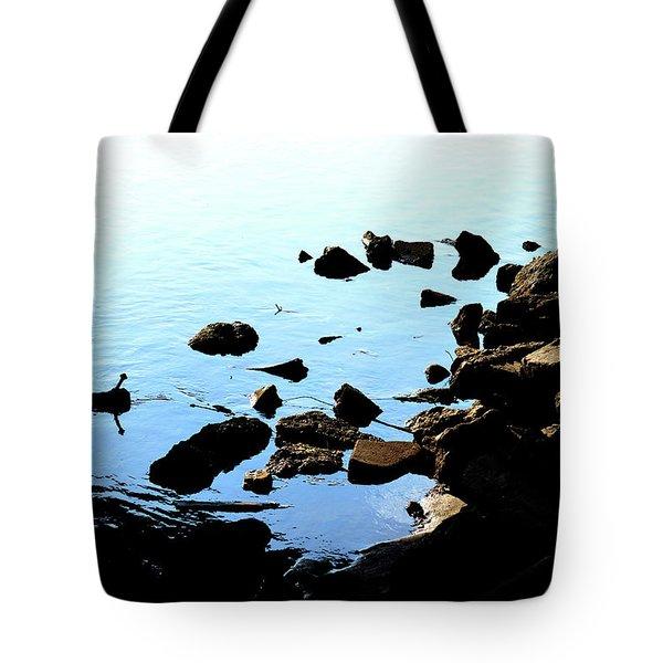 Rver Rocks Tote Bag