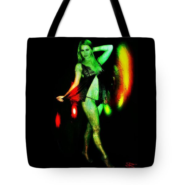 Tote Bag featuring the digital art Ryan 2 by Mark Baranowski