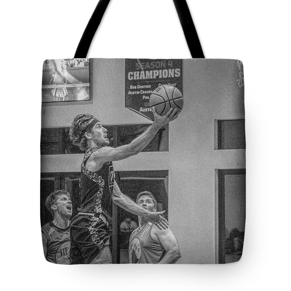 Tote Bag featuring the photograph Ryan Blaney   by Ronald Santini