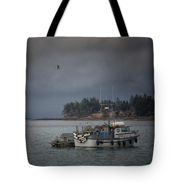 Ryan D Tote Bag by Randy Hall