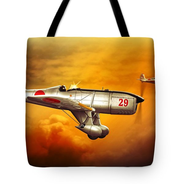 Ryan St-a Captured Imperial Japanese Trainer Tote Bag