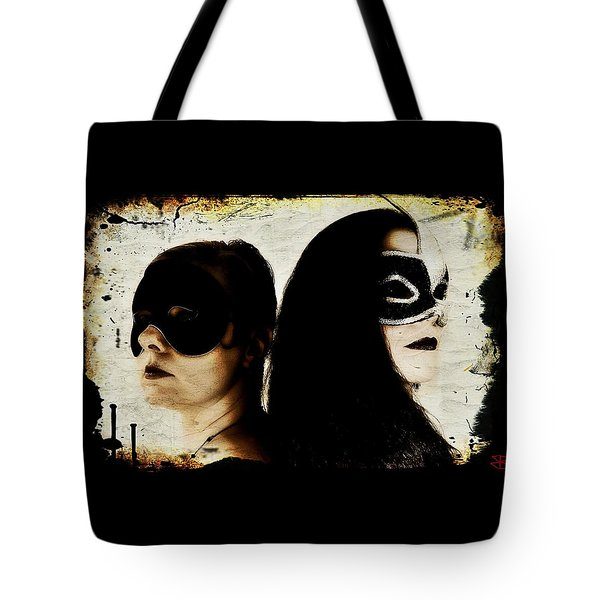 Tote Bag featuring the digital art Ryli And Corinne 1 by Mark Baranowski