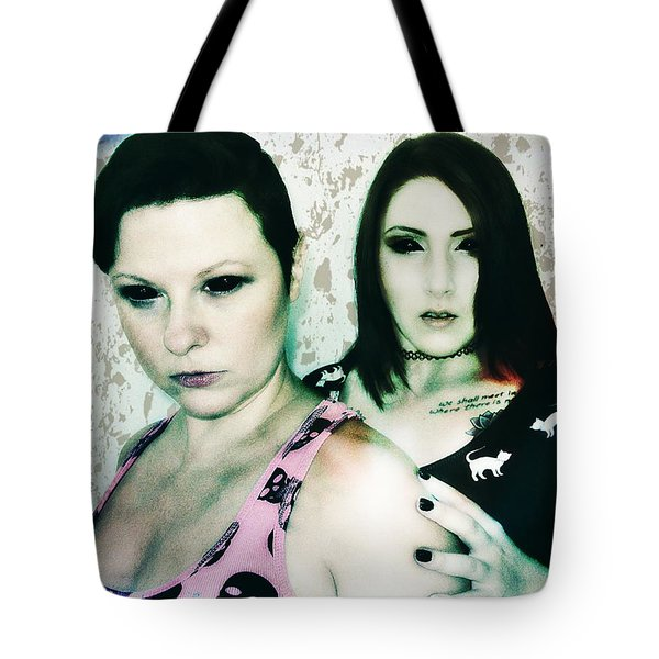 Ryli And Khrist 1 Tote Bag by Mark Baranowski