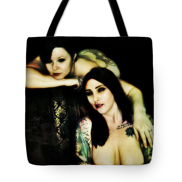 Ryli And Khrist 2 Tote Bag