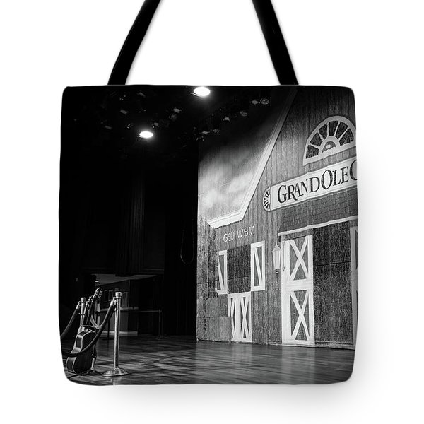 Ryman Opry Stage Tote Bag