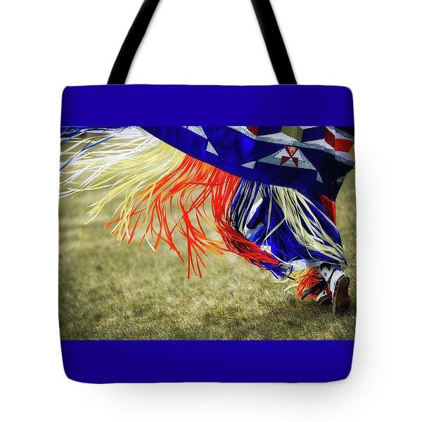 Rythmn And Ribbons  Tote Bag