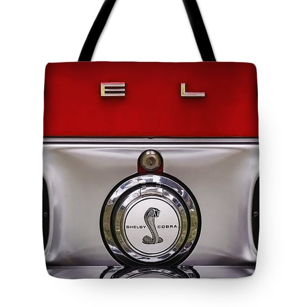 S   H   E   L   B   Y Tote Bag by Gordon Dean II