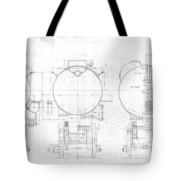 S-1a Cross Sections Tote Bag