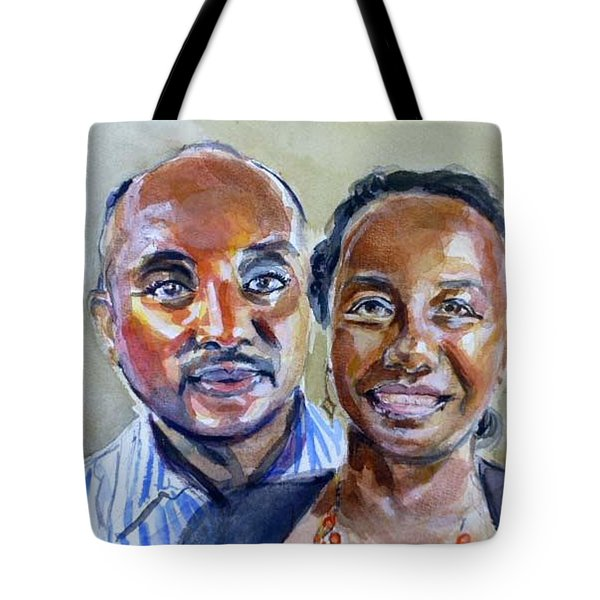 S And D Tote Bag by Renuka Pillai