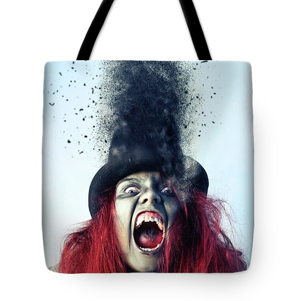 S C A R Y  Tote Bag