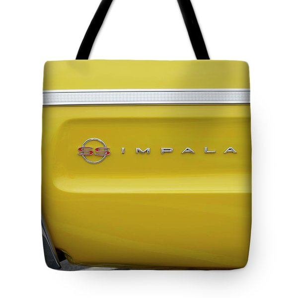 Tote Bag featuring the photograph S S Impala by Mike McGlothlen