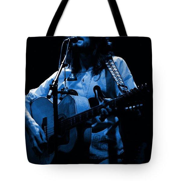 S#14 Enhanced In Blue Tote Bag