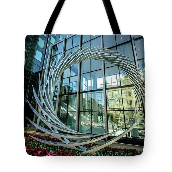 Tote Bag featuring the photograph S2 By Santiago Calatrava by Randy Scherkenbach