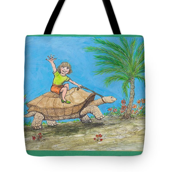S7 Tortoise Ride Tote Bag by Charles Cater