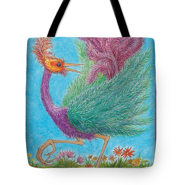 s9  Fine Feathers Tote Bag by Charles Cater