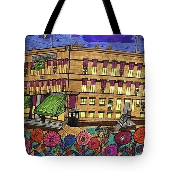 S.m Stephenson Hotel Tote Bag by Jonathon Hansen