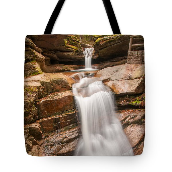 Sabbaday Falls Tote Bag