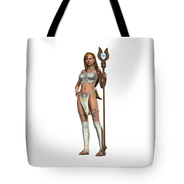 Sabby Lessa Woman Warrior Tote Bag