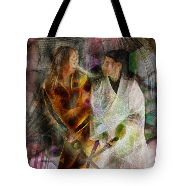 Sabre Dance Tote Bag by John Robert Beck