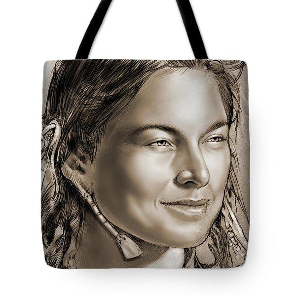 Sacagawea 2 Tote Bag