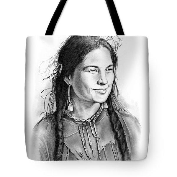 Sacagawea Tote Bag