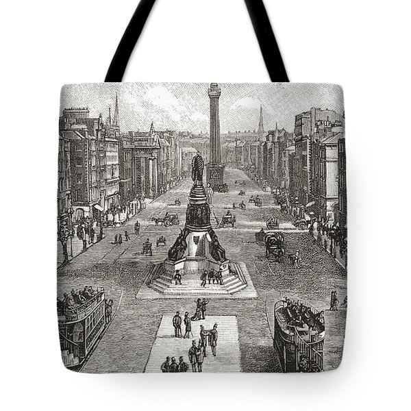 Sackville Street  Now O Connell Street Tote Bag