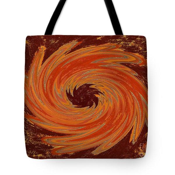Sacral Flower Digital Tote Bag