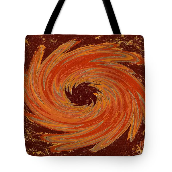 Sacral Flower Digital Tote Bag