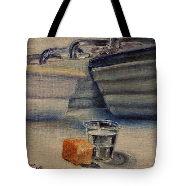 Sacrament Tote Bag by Lori Brackett