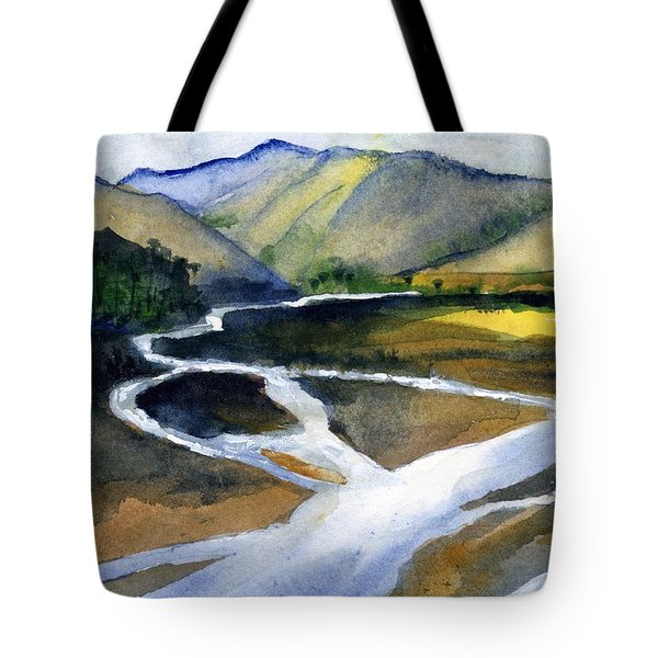 Sacramento River Delta Tote Bag