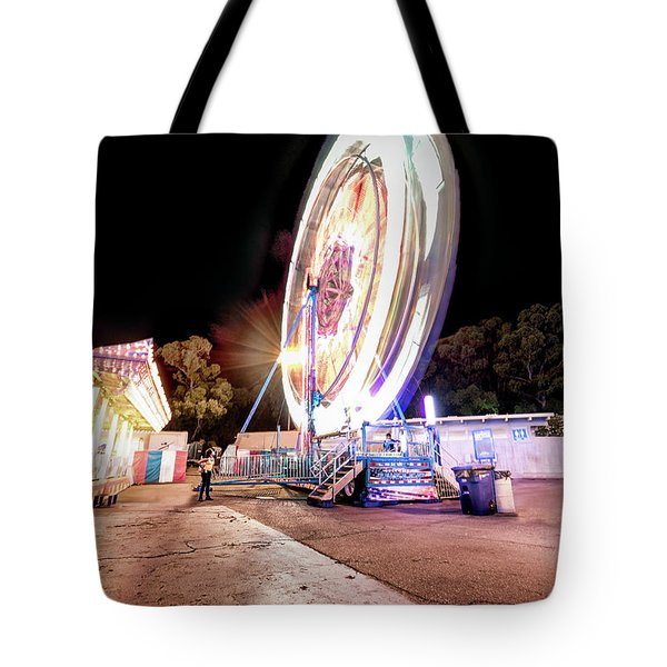 Tote Bag featuring the photograph Sacramento State Fair- by JD Mims