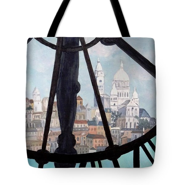 Sacre Coeur From Musee D'orsay Tote Bag