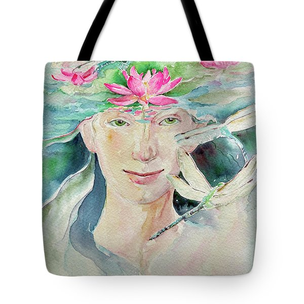 Sacred Awakening Tote Bag